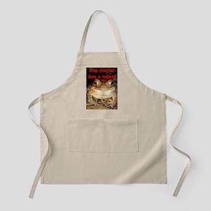 Save a tadpole BBQ Apron