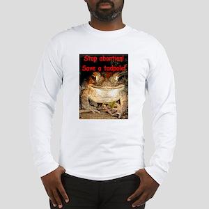 Save a tadpole Long Sleeve T-Shirt
