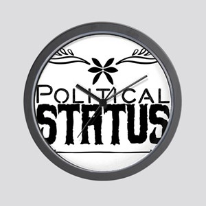 Political status Wall Clock