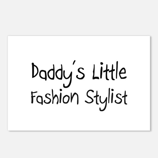 Daddy's Little Fashion Stylist Postcards (Package
