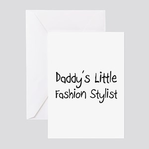 Fashion designer wanted greeting cards cafepress daddys little fashion stylist greeting cards pk m4hsunfo