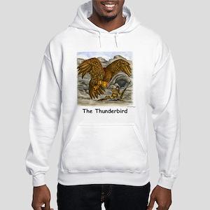 Thunderbird and Mountain Man Hooded Sweatshirt