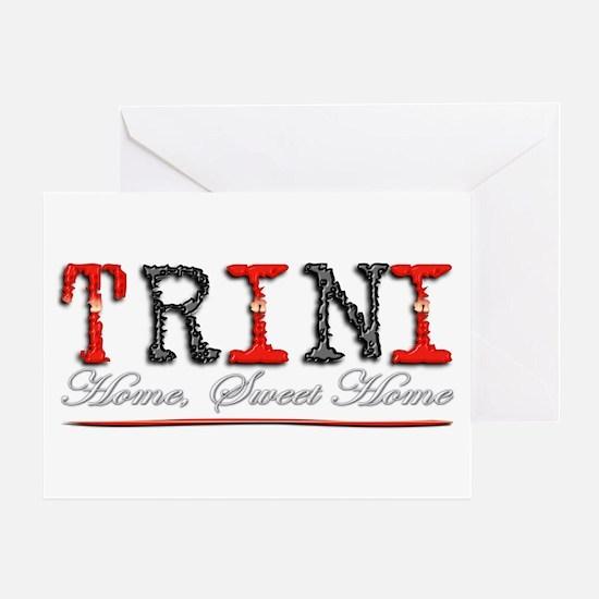 Sweet Home Trini - Greeting Card