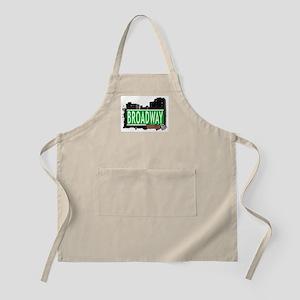 BROADWAY, BROOKLYN, NYC BBQ Apron