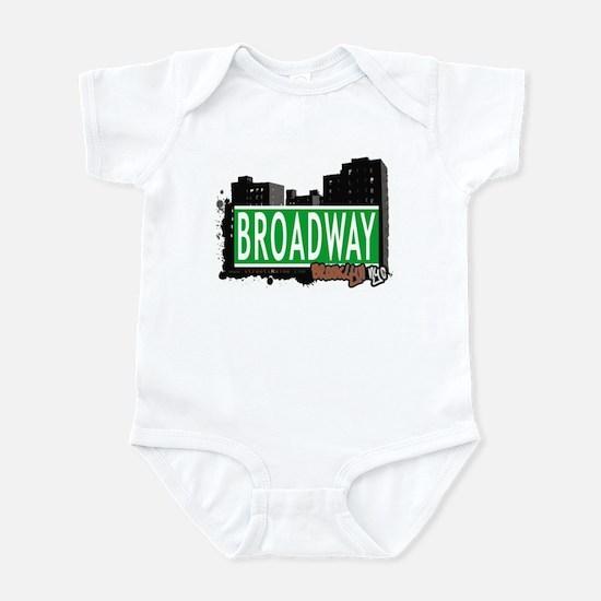 BROADWAY, BROOKLYN, NYC Infant Bodysuit