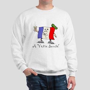 A Votre Sante Sweatshirt