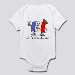 A Votre Sante Infant Bodysuit