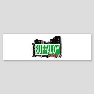 BUFFALO AVENUE, BROOKLYN, NYC Bumper Sticker
