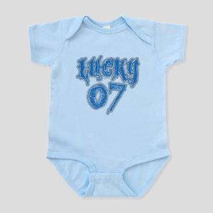 Lucky 07 Infant Bodysuit