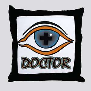 Eye Doctor Throw Pillow