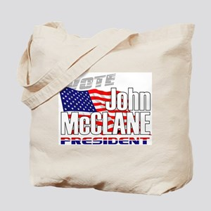 Vote John McClane Tote Bag