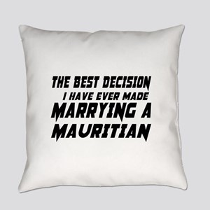 Marrying Mauritian Country Everyday Pillow