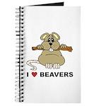 I Love Beavers Journal