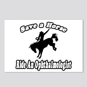 """""""Save Horse, Ride Ophthalmologist"""" Postcards (Pack"""