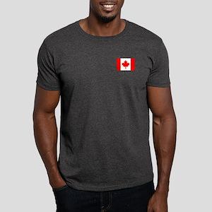 Canadian Flag 6 Dark T-Shirt