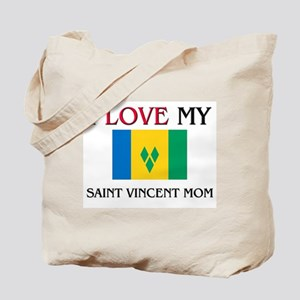 I Love My Saint Vincent Mom Tote Bag