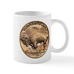 Nickel Buffalo Mug