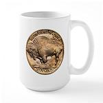 Nickel Buffalo Large Mug