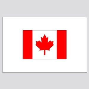 Canadian Flag Large Poster