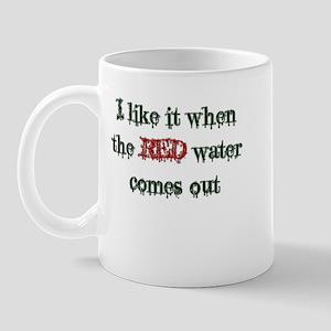 Red Water Mug