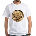 Nickel Indian Head White T-Shirt