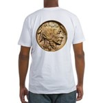 Nickel Indian Head Fitted T-Shirt