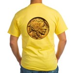 Nickel Indian Head Yellow T-Shirt