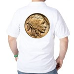 Nickel Indian Head Golf Shirt