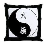 Taiji Throw Pillow