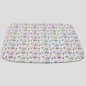 Colorful Native pattern Bathmat