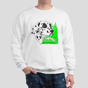 Dalmatian (Front & back) Sweatshirt