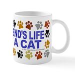 Save life, cat. Mug