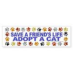 Save life, cat. Bumper Sticker