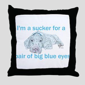 NWP Blue Eyes Throw Pillow