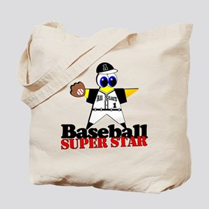 Baseball Star Tote Bag