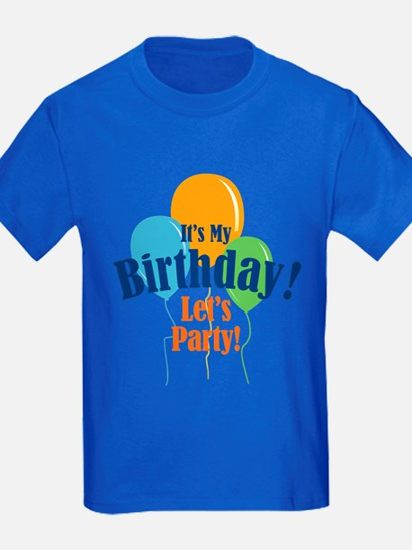 Birthday Party Balloons T