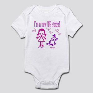Kaelyn and Alyson Shirt Infant Bodysuit