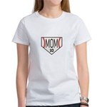 Personalize Baseball Mom T-Shirt