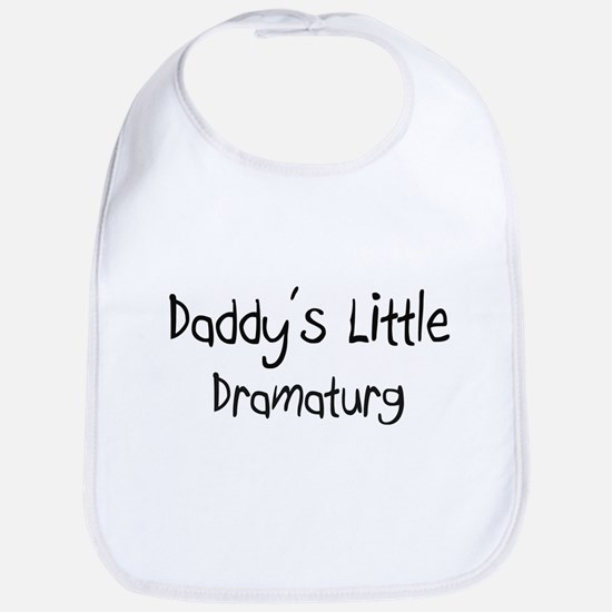 Daddy's Little Dramaturg Bib