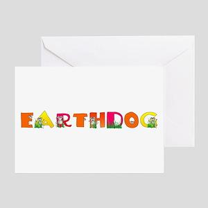 Earthdog Greeting Card