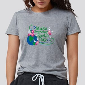 Make Everyday Earth Day Women's Dark T-Shirt