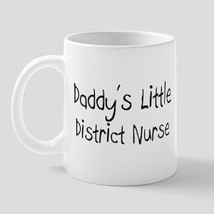Daddy's Little District Nurse Mug