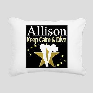 BEST DIVER Rectangular Canvas Pillow