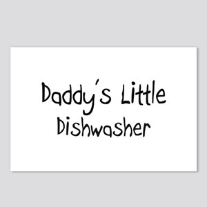Daddy's Little Dishwasher Postcards (Package of 8)