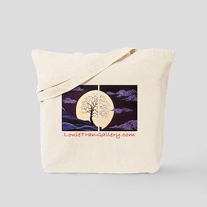 Plum Blossom Moonlight Tote Bag