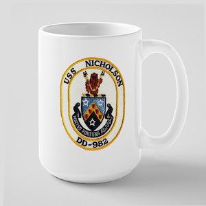USS NICHOLSON Mugs