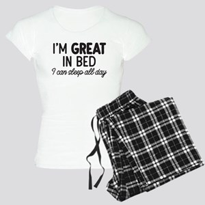 Great In Bed Women's Light Pajamas
