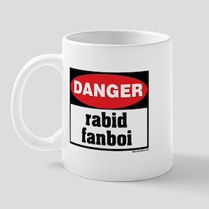 Danger Rabid Fanboi Mug