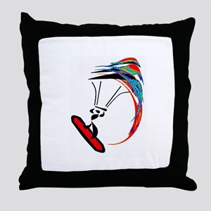 KITEBOARD Throw Pillow
