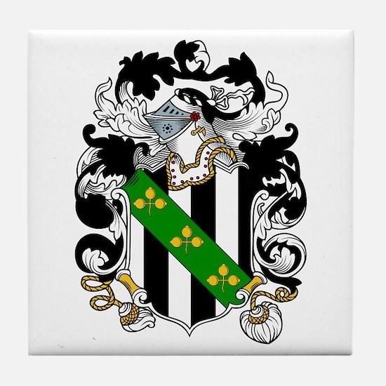 Falconer Family Crest Tile Coaster